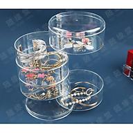 Hộp nhựa đựng trang sức HR xoay 360 5 tầng bằng nhựa thumbnail
