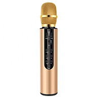 Micro Không Dây Hát Karaoke Kết Nối Bluetooth Kiêm Loa Hát Nhạc - Hàng Chính Hãng PKCB thumbnail