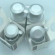 (Combo 4 Phin Cao Cấp) Phin pha cà phê Nhôm Trung Nguyên - Có Hộp Giấy thumbnail