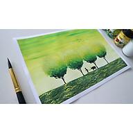 [RẺ NHẤT] Giấy vẽ màu nước A4 100gsm 180gms vẽ phác thảo, kí họa, phác họa,..màu trắng tự nhiên chống mỏi mắt thumbnail