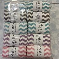 Combo 5 khăn mặt lông cừu Hàn Quốc cao cấp. Kích thước 30x50cm thumbnail