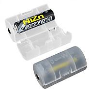 Bộ 2 adapter chuyển đổi pin tiểu AA thành pin đại D thumbnail