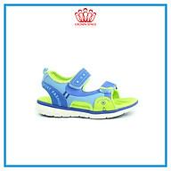 Dép Quai Hậu Cho Bé Trai Đi Học Thời Trang Cao Cấp Crown Space UK Active Sandal CRUK522 Chất Liệu Da Nhẹ Êm Thoáng Khí Thấm Hút Mồ Hôi Cho Trẻ Size từ 26-35 2-14 Tuổi thumbnail