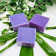 Xà phòng handmade Adeva Naturals - Xà bông Oải hương (3 bánh - 100 gr 1 bánh) - Xà phòng handmade với thành phần từ thiên nhiên, an toàn dịu nhẹ, cho làn da mềm mại - Không gây khô rít da thumbnail