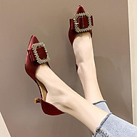 Giày Cao Gót Giày Nữ Mũi Nhọn Gót Cao 3cm Siêu Xinh Thanh Lịch ST17 - Mery Shoes thumbnail