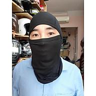 Mũ ninja trùm đầu chất liệu cotton thumbnail