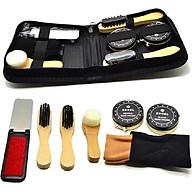 Bộ dụng cụ đánh giày 7 món si đen tặng kèm dụng cụ ngoáy tai có đèn tiện lợi thumbnail