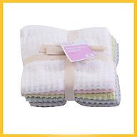 Lô 5 Khăn Màu Cotton Loving Home 30cm x 30cm (Giao Màu Ngẫu Nhiên) thumbnail