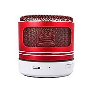 Loudspeaker Bluetooth Speaker Mini Handfree Calls FM Radio Outdoor Hiking - red thumbnail