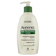 Aveeno Active Naturals Daily Moisturising Lotion Fragrance Free 354mL thumbnail