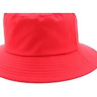 Mũ Tai Bèo Bucket Trơn - Đỏ thumbnail