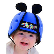 Mũ bảo hiểm cho bé - XANH ĐẬM thumbnail