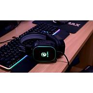Tai nghe có dây EDra EH401 LED RGB - Hàng chính hãng thumbnail