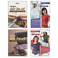 Bộ Sách Móc Len Sợi Hè Thu + Móc Len Sợi Xuân Hè + Móc Len Sợi 15 Mẫu Thời Trang + Móc Len Sợi Tấm Lót, Thảm (Bộ 4 Cuốn) thumbnail