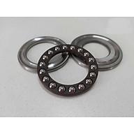 Bộ vòng bi chao máy rửa xe cao áp - bạc đạn kích thước 55x28x12(mm) thumbnail