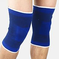 Băng bảo vệ đầu gối quấn gối, bảo vệ tránh chấn thương chạy thể dục giao màu ngẫu nhiên thumbnail