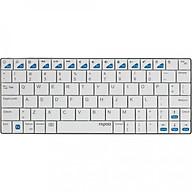 Bàn phím vi tính không dây Rapoo E6300 màu trắng Hàng chính hãng thumbnail
