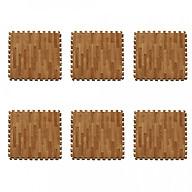 Bộ Thảm xốp lót sàn vân gỗ gồm 6 miếng thumbnail