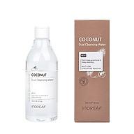Nước tẩy trang đa năng chiết xuất dầu dừa BEBECO Inoreaf Coconut Dual Cleansing Water thumbnail