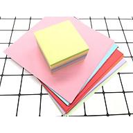 Giấy thủ công Origami (100 tờ) 14x14cm , giấy xếp cò,siêu tiết kiệm thumbnail