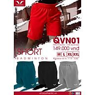 Set bộ Nam thể thao cầu lông Vina Authentic NEW01 Form thể thao , Mềm mịn , Không Ra Mầu , Không Xù Lông thumbnail