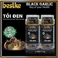 Tỏi Đen bestke 1 nhánh lên mem tự nhiên tiêu chuẩn xuất khẩu, Combo 2 Hộp mỗi hộp 0.5kg balck garlic thumbnail