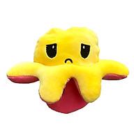 Gấu bông bạch tuộc cảm xúc biến hình xinh xắn - Vàng - Hồng thumbnail