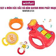 Đồ chơi Set 4 xúc sắc đồ chơi cầm tay gặm nướu Khu vườn của bé Winfun 3207 - 3130 - 3131 - tặng đồ chơi tắm 2 món thumbnail