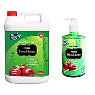 Combo Can Nước (Sữa) rửa tay 5 Lít + Chai Nước rửa tay nhỏ 500ml Thương hiệu Mr Fresh - Hàn Quốc (nhiều mùi hương) thumbnail