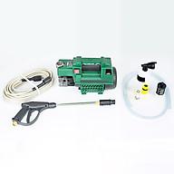 Máy rửa xe mini gia đình, máy rửa xe cao áp công suất mạnh 2000W, máy bơm rửa xe, bộ máy xịt tưới cây dễ dàng sử dụng, ống bơm nước 15m, vòi bơm áp lực cao_C0001G1 thumbnail