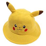 Mũ, Nón Tai Bèo Pikachu Cho Bé - Tặng 1 chong chóng đồ chơi thumbnail