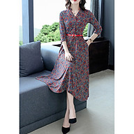 New style noble lady mother autumn long-sleeved dress thumbnail