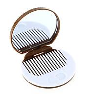 Bộ gương lược bỏ túi mini hình chiếc bánh cookies lạ mắt thumbnail