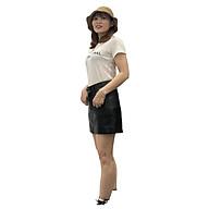 Chân Váy Bút Chì Da Pu Lưng Cao Thời Trang Hàn Quốc V25 48-51 KG JIAMI thumbnail
