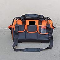 Túi đồ nghề bằng vải kèm 8 túi phụ đáy bằng nhựa cứng các cỡ thumbnail