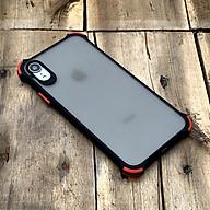 Ốp lưng chống sốc toàn phần màu đen dành cho iPhone XR thumbnail