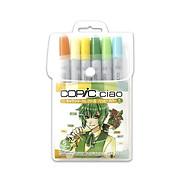 Set 6 cây bút màu dạ copic ciao nội địa - Marker Copic Ciao Japan, màu dạ tốt nhất trên thế giới xuất xứ nhật bản thumbnail