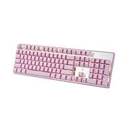 Bàn phím cơ BJX KM9 Full Size Pink Version - Hàng Chính Hãng thumbnail