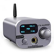 Bộ Giải Mã Âm Thanh FX-Audio DAC-M1 DAC ES9038Q2M XMOS 32bit 768kHz DS512 Bluetooth 5.0 - Hàng Chính Hãng thumbnail