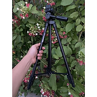 Chân máy kiểu tripod dành cho máy ảnh và điện thoại VTC 5208 PLUS - Hàng nhập khẩu - Không kèm nút bluetooth thumbnail