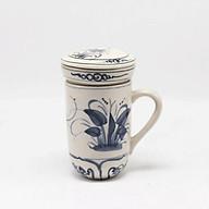 Ly lọc trà gốm hoa văn Chuồn Chuồn Xanh MNV-PTCCX01 thumbnail