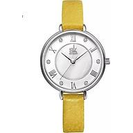 Đồng hồ nữ chính hãng Shengke Korea dây da K9002L thumbnail