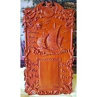 Dốc lịch gỗ hương đục nổi-Thuận Buồm Xuôi Gió -TG171. thumbnail