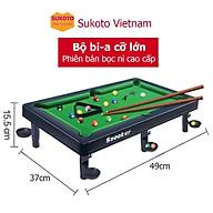 Bộ bàn bi a cao cấp cỡ lớn 15x37x49 - Đồ chơi giải trí kết nối gia đình thumbnail