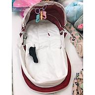 Ba lô đệm du lịch tiện lợi cho mẹ và bé, màu ngẫu nhiên - Tặng kèm 01 gối lõm đinh lăng cho bé thumbnail
