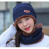 nón len nữ kèm khăn choàng cổ dn19111603 thumbnail