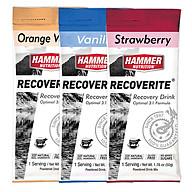 Combo 3 gói Thức uống phục hồi cơ bắp- Hammer Nutrition Recoverite 3 vị Vani cam, dâu, vani ( 147g) thumbnail