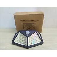 Đèn led cảm ứng năng lượng mặt trời 100LED siêu sáng - tự động bật sáng khi có người chống trộm hoàn hảo - đèn 3 chế độ hoạt động thumbnail