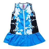 Đầm Đuôi Cá Hoa Xanh Đen Ren Giữa Bé gái Cuckeo kids - T41921 thumbnail