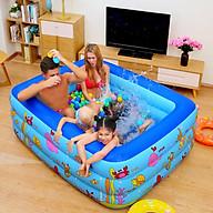 Bể Bơi Phao 3 Tầng Cho Cả Gia Đình Size 1m3,1m5 1m8 (Tặng Kèm Vịt Thả Bể Bơi) thumbnail